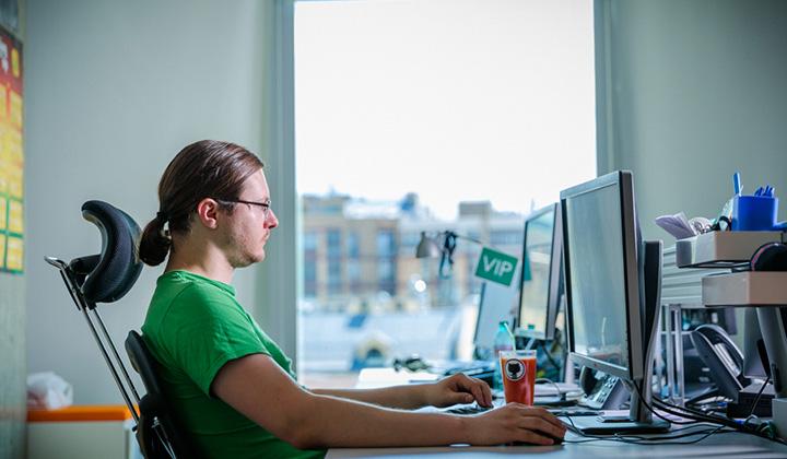 Московский офис Badoo оформлен по последнему слову дизайна и техники.