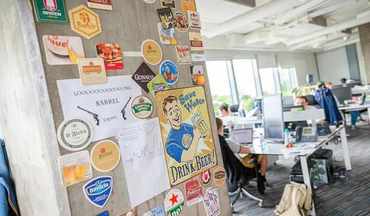 В офисе Баду царит неформальная атмосфера, в которой очень хорошо и продуктивно работается.