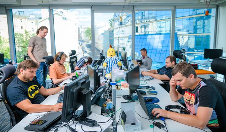 Работать в Badoo не только интересно, престижно, но и весело.