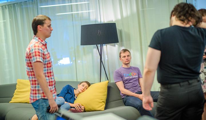 И сотрудники Баду, и гости офиса признают, что московский офис Badoo - один из самых гостеприимных офисов.