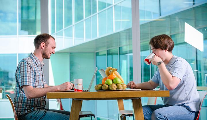 В московском офисе Баду созданы все условия для продуктивной работы.